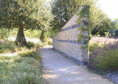 mur en pierre Terrasson